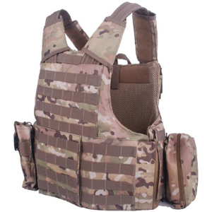 Camouflage Bulletproof Vest for Army with NIJ IIIA